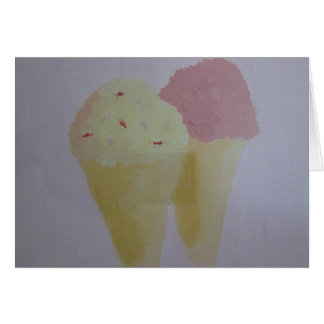 Yummy Ice Cream Card