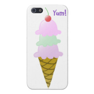 Yummy Ice Cream Cone iPhone Case Case For iPhone 5