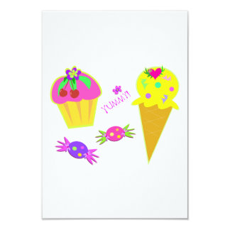 Yummy Ice Cream Invitations