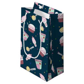Yummy ice cream treat pattern large gift bag