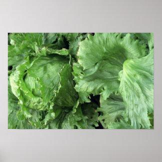 Yummy Iceberg lettuce Poster