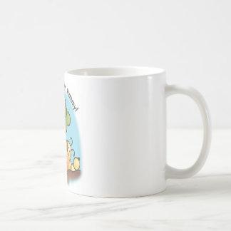 Yummy in my belly! coffee mug