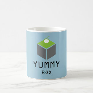 """""""Yummy Is Funny"""" Basic White Mug"""