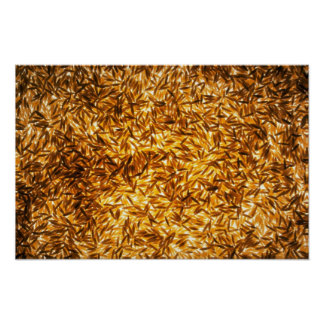 Yummy Long grain rice Poster