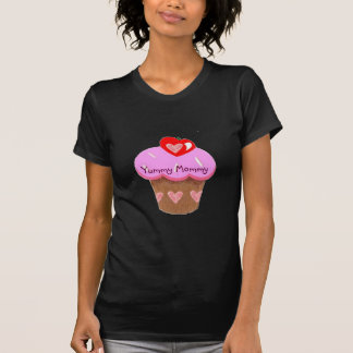 Yummy Mommy, Cupcake for Mom T-Shirt