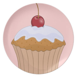 Yummy Muffin Party Plates