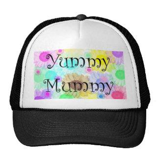 yummy mummy flowers cap