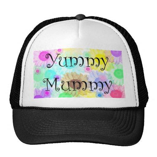 yummy mummy flowers cap hat