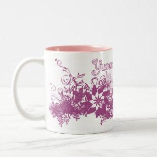 Yummy Mummy Two-Tone Coffee Mug