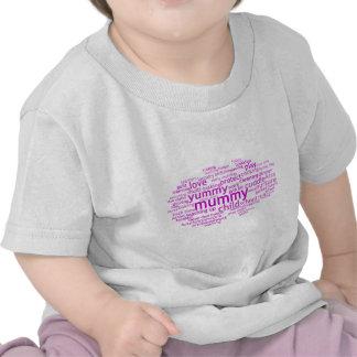 Yummy Mummy Wordle T Shirt