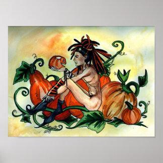 Yummy Pumpkin Boy Print