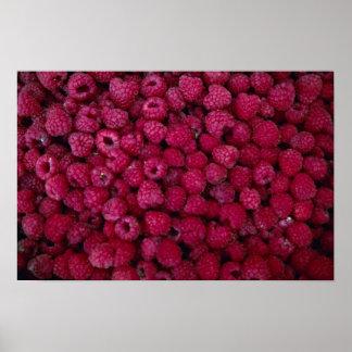 Yummy Raspberries Print