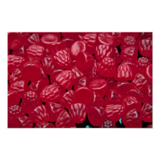 Yummy Raspberry jubes Print