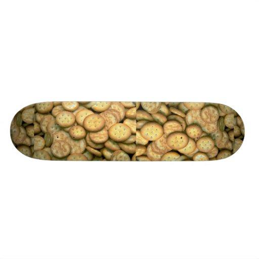Yummy Snack crackers Skate Board
