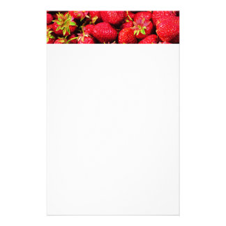 Yummy Strawberries Stationery