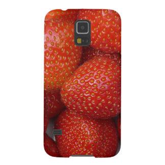 yummy strawberry case for galaxy s5