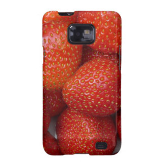 yummy strawberry samsung galaxy SII cover
