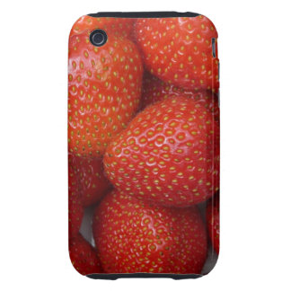 yummy strawberry iPhone 3 tough case