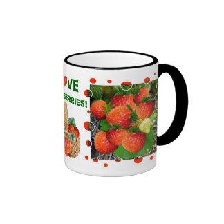 YUMMY!   Strawberry  Mug