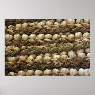 Yummy Strings of garlic Poster