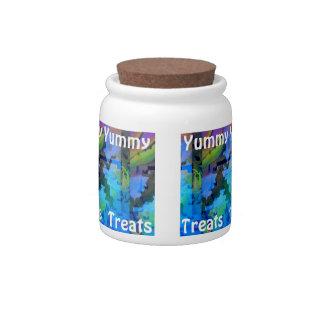 Yummy Treats Candy Jar