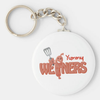 Yummy Weiners Key Ring