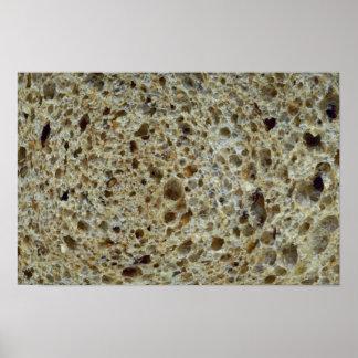 Yummy Wheat bread Poster