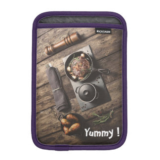 Yummy Wooden Recipe iPad Mini Sleeve