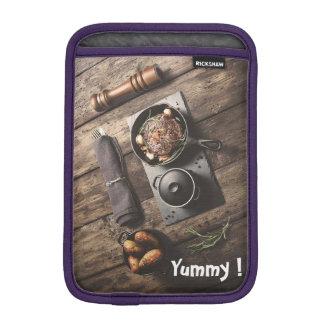 Yummy Wooden Recipe iPad Mini Sleeves