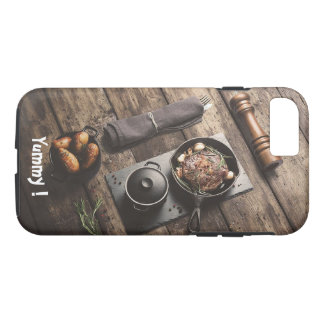 Yummy Wooden Recipe iPhone 7 Case