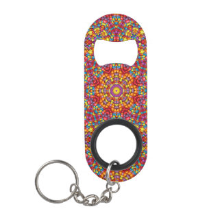 Yummy Yum Kaleidoscope  Bottle Openers, 3 styles