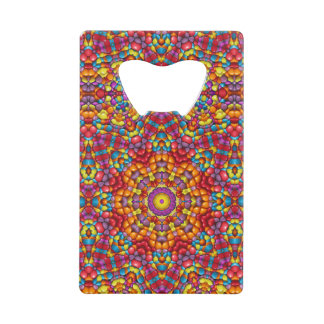 Yummy Yum  Kaleidoscope  Credit Card Openers