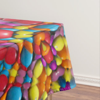 Yummy Yum Yum Colorful Cotton Tablecloth