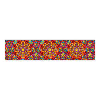 Yummy Yum Yum Kaleidoscope  Colorful Napkin Band