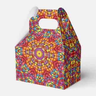 Yummy Yum Yum Kaleidoscope Gable Favor Box