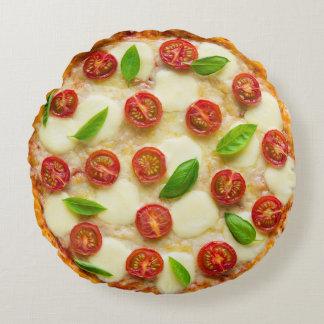 Yummy Zesty Pizza Pillow Round Cushion