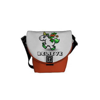 "Yummy's ""Believe"" Fanny Pack Courier Bag"