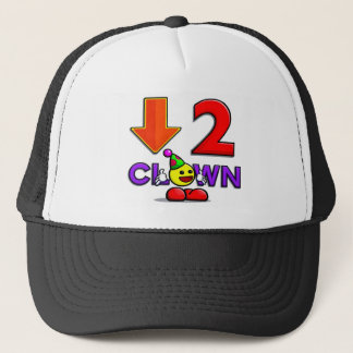 Yummy's Official Down2Clown Hat   Down To Clown