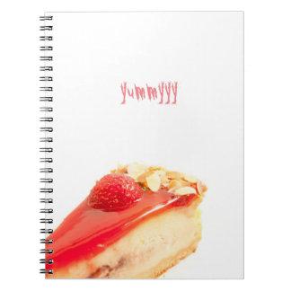 yummyy spiral notebook