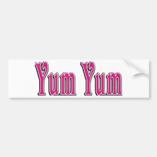 yumyum bumper sticker