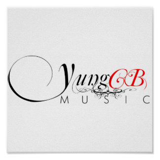 Yung CB Music Poster