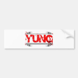 Yung CB TV (Logo 2) Bumper Sticker