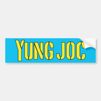 Yung Joc Bumper Sticker