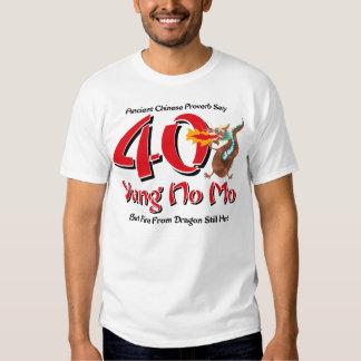 Yung No Mo 40th Birthday Shirts