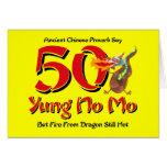 Yung No Mo 50th Birthday Cards