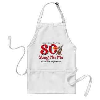 Yung No Mo 80th Birthday Aprons