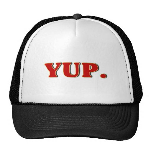 Yup. Hat