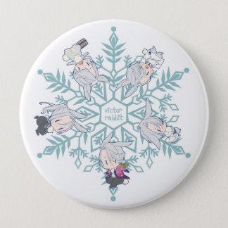 Yuri On Ice!! Victor Rabbit 4 Inch Round Button