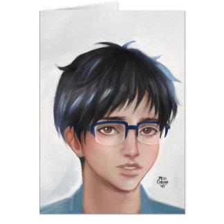 Yuri on Ice  Yuuri fanart Card
