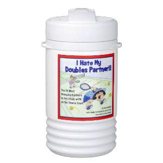 Yuriko water bottle - I Hate My Doubles Partner Cooler